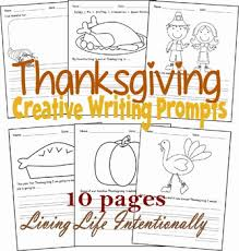 writing prompts thanksgiving kindergarten 1st grade by beth