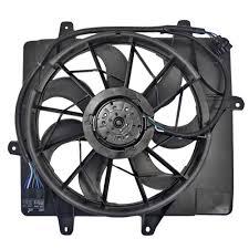 chrysler pt cruiser radiator fan brock supply 06 10 chrysler pt cruiser radiator fan assembly w o