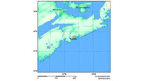 Moncton Canada Map by Small Earthquake Recorded East Of Halifax Toronto Star