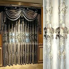 Bedroom Curtains Balloon Curtains For Bedroom Striped Window Curtain Fabric Balloon