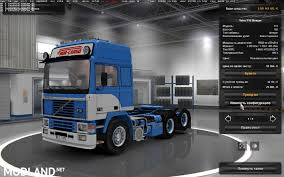 volvo n series trucks volvo f16 nor cargo fixed mod for ets 2