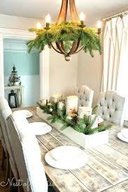 christmas decor for round tables dining room table decor ideas best chairs on round tables and