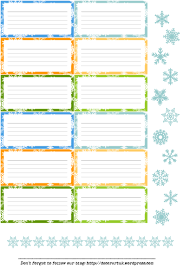 6th day labels for envelopes