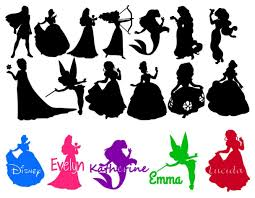 free silhouette images free disney character silhouettes clipart bbcpersian7 collections