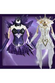 League Legends Halloween Costume Legends Lol Lux Light Dark Elementalist Cosplay Costumes