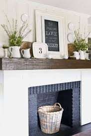 How To Decorate A Non Working Fireplace 18 Fireplace Decorating Ideas Best Fireplace Design Inspiration