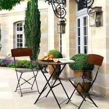 Patio Furniture High Top Table And Chairs by Patio Bistro Table Set U2013 Smashingplates Us