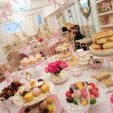 vintage tea party themed baby shower baby shower decoration
