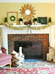 fireplace mantel ornaments sublime mantel decorating ideas
