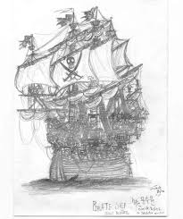pirate ship jolly roger by jack8642 on deviantart