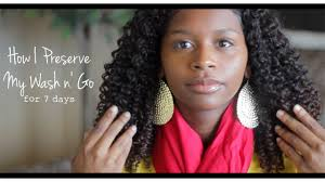 mahogany curls hair regimen natural hair talk how i preserve my wash n go youtube