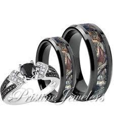 camo wedding rings camo wedding ring sets jemonte