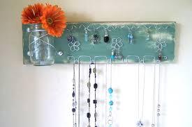 Jewelry Wall Hanger Captivating Closet Jewelry Organizer Ideas Roselawnlutheran