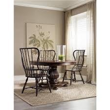 hooker dining room sets hooker furniture sanctuary spindle side chair ebony set of 2