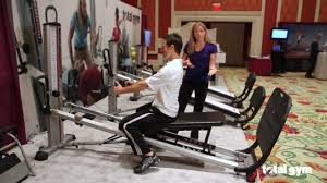 total gym applications for physical therapy back youtube