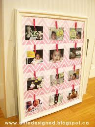 designed baby s 1st year timeline frame