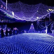 led net lights large outdoor garland lights on the