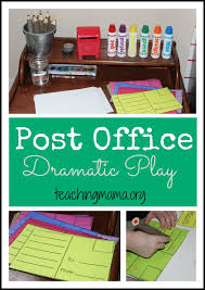 Post Office Help Desk Office Dramatic Play