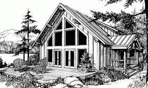 smart placement chalet house plans with loft ideas home plans
