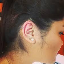 helix earing my helix piercing with needle
