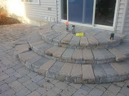 patio paving ideas brick paver patio steps brick paver colors