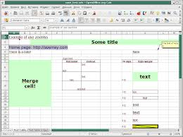 Open Office Spreadsheet Avemey Samples Of Code For Using Zexmlss