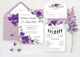 wedding invitation software best 25 wedding invitations silhouette ideas on