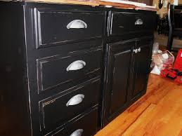 cute glazing kitchen cabinets featuring black wooden color kitchen