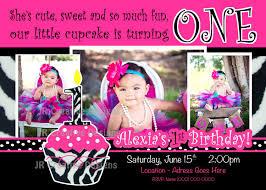 cupcake invitations 1st birthday cupcake themed first birthday
