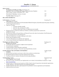Medical Scribe Resume Example by Doctor Of Veterinary Medicine Resume Corpedo Com