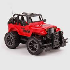 big red jeep rc jeep 1 24 drift speed radio suv remote control off road vehicle