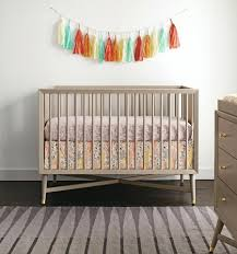 Convertible Crib Bedding Dwell Studio Crib Mid Century Convertible Crib Grey