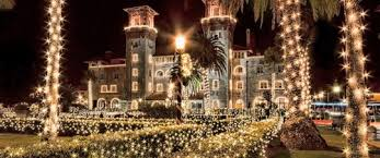 st augustine lights tour st augustine florida fun things to do family beach vacation