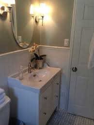 Hemnes Bathroom Vanity by How Sarah Made Her Small Bungalow Bath Look Bigger Penny Tile
