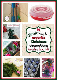 the decorative genius of repurposing places in the home 16 genius ways to organize christmas decorations and store them
