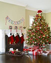 interior design view christmas theme decorating ideas room