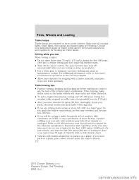 towing ford crown victoria 2011 2 g owners manual
