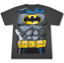 batman halloween costume shirt