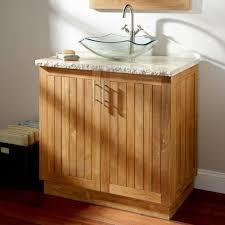 bahtroom impressive vanity as teak wood bathroom accessories on