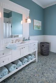 bathroom ideas blue blue and white bathroom decorating ideas coastal living bathroom