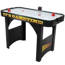 Air Hockey Table Dimensions by Hathaway Face Off 5 Foot Air Hockey Table With Electronic Scoring
