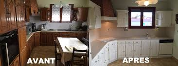 relooking cuisine avant apr鑚 style de cuisine moderne 8 atelier cbl gtgtgt relooking cuisine