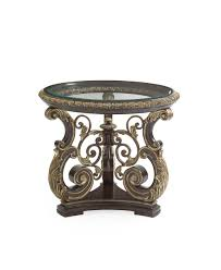 the mezzanotte cocktail table living room collection 15457