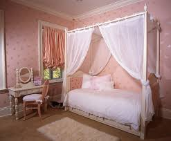 Canopy Bed Curtains For Girls Comely Twin Canopy Beds For Girls Modern Wall Sconces And Bed Ideas