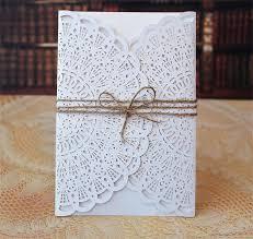 wholesale wedding invitations beautiful diy laser cut wedding invitations or your own wedding