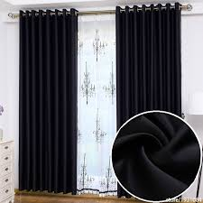 Blackout Curtains Black Black Blackout Curtains Home Design Ideas And Pictures