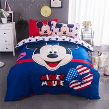 Mickey Mouse King Size Duvet Cover Popular Mickey Mouse Bedding Set Buy Cheap Mickey Mouse Bedding