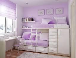 Custom Made Dual Loft Beds With Desks Kids Room Decor - Girls room with bunk beds