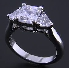 diamond ring cuts asscher cut diamond ring bijoux extraordinaire