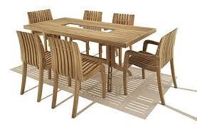 Teak Indoor Dining Table Modern Furniture Modern Teak Outdoor Furniture Expansive Medium
